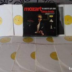 Discos de vinilo: MOZART* -GÉZA ANDA,CAMARATA ACADEMICA DES SALZBURGER MOZARTEUMS,*_–LOS CONCIERTOS PARA PIANO. Lote 191696925