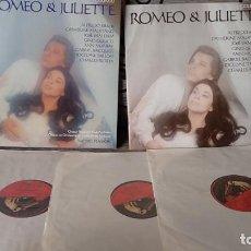 Discos de vinilo: ALFREDO KRAUS,CATHERINE MALFITANO,MICHEL PLASSON_–GOUNOD - ROMEO & JULIETTE. Lote 191696935