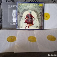 Discos de vinilo: MOZART-BOHM -IDOMENEO. Lote 191696941