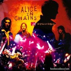 Discos de vinilo: 2LP ALICE IN CHAINS MTV UNPLUGGED VINILO GRUNGE. Lote 191697012