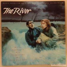 Discos de vinilo: CUANDO EL RÍO CRECE (THE RIVER) JOHN WILLIAMS. Lote 191704506