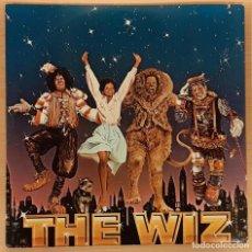 Discos de vinilo: EL MAGO (THE WIZ) 2 LP QUINCY JONES, MICHAEL JACKSON, DIANA ROSS. Lote 191704880