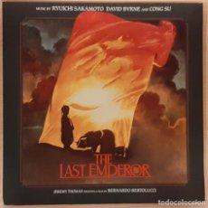 Discos de vinilo: EL ÚLTIMO EMPERADOR (THE LAST EMPEROR) RYUICHI SAKAMOTO, DAVID BYRNE, CONG SU. Lote 191705242