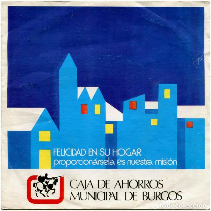 VVAA (JOSE MARÍA IÑIGO) - CAJA DE AHORROS MUNICIPAL DE BURGOS - EP SPAIN 1976 (Música - Discos de Vinilo - EPs - Bandas Sonoras y Actores)
