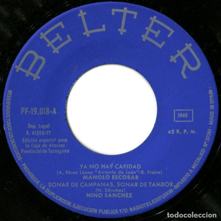 Discos de vinilo: VVAA (Manolo Escobar, Ninio Sanchez, Lola Flores y A. Gonzalez, Los Dos) - Feliz Navidad - Belter - Foto 3 - 191710550