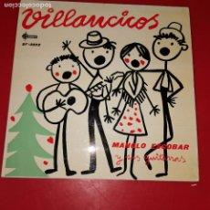 Discos de vinilo: VILLANCICOS POR MANOLO ESCOBAR Y SUS GUITARRAS. Lote 191711480