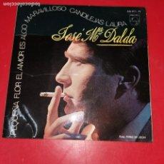 Discos de vinilo: JOSÉ MARÍA DALDA, EP, PEQUEÑA FLOR. Lote 191711690