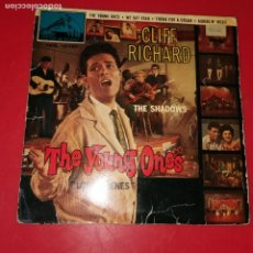 Discos de vinilo: THE SHADOWS CLIFF RICHARD THE YOUNG ONES EP. Lote 191712545