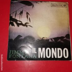 Discos de vinilo: JIMMY FONTANA. IL MONDO.. Lote 215345703