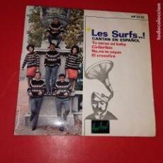 Discos de vinilo: LES SURFS CANTAN EN ESPAÑOL -EP VINILO 7''- TU SERAS MI BABY / CIRIBIRIBIN / NO TE VAYAS.... Lote 191713232