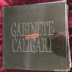 Discos de vinilo: GABINETE CALIGARI - PRIVADO - LP EMI 1989. Lote 191713978