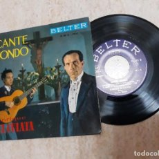 Discos de vinilo: ENRIQUE EL CULATA.CANTE JONDO.GUITARRA PACO SIMON.. Lote 191714241