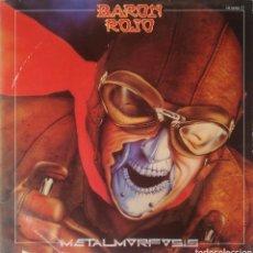 Discos de vinilo: BARÓN ROJO - METAMORFOSIS, 1983 (HS35062) 1ª EDICIÓN ESPAÑA. Lote 191715376