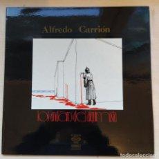 Discos de vinilo: ALFREDO CARRIÓN – LOS ANDARES DEL ALQUIMISTA - ORIGINAL MOVIEPLAY 1976 EXCELENTE ESTADO. Lote 191721707