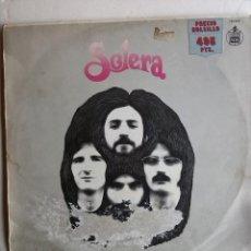 Discos de vinilo: SOLERA - SOLERA. Lote 191723381