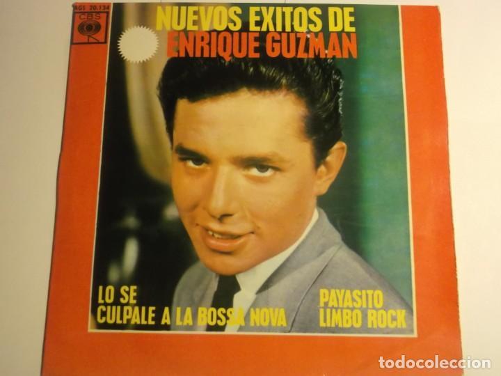 NUEVOS EXITOS DE ENRIQUE GUZMAN-LO SE-PAYASITO (Música - Discos de Vinilo - EPs - Grupos y Solistas de latinoamérica)