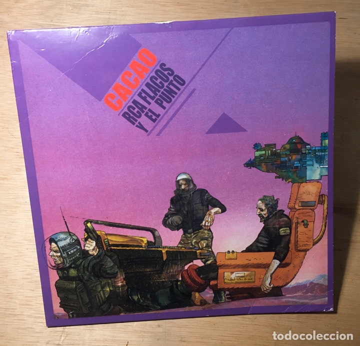 CACAO DE RCA FLACOS Y EL PUNTO. ED. LIMITADA. (Música - Discos de Vinilo - EPs - Rap / Hip Hop)