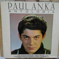 Discos de vinilo: PAUL ANKA - ANTOLOGÍA - LP. DEL SELLO RCA DE 1972. Lote 191732186