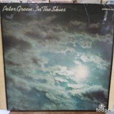 Discos de vinilo: PETER GREEN - IN THE SKIES - LP. DEL SELLO CARNABY DE 1979. Lote 191732345
