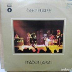 Discos de vinilo: DEEP PURPLE - MADE IN JAPAN - DOBLE LP. DEL SELLO EMI 1972. Lote 191732925