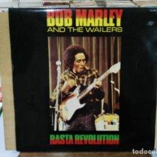 Discos de vinilo: BOB MARLEY AND THE WAILERS - RASTA REVOLUTION - LP. DEL SELLO ZAFIRO DE 1980. Lote 191733436