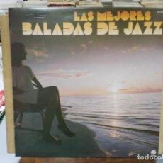 Discos de vinilo: LAS MEJORES BALADAS DE JAZZ - CHARLIE BYRD, DONAL BYRD, MILES DAVIS, ..LP. DEL SELLO FANTASY DE 1983. Lote 191733802