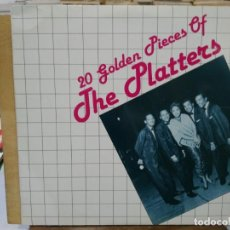 Discos de vinilo: THE PLATTERS - 20 GOLDEN PIECES OF THE PLATTERS - LP. DEL SELLO PDI DE 1984. Lote 191734065