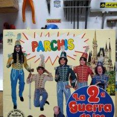 Discos de vinilo: BSO. PARCHIS 2ª GUERRA DE LOS NIÑOS. Lote 191740251