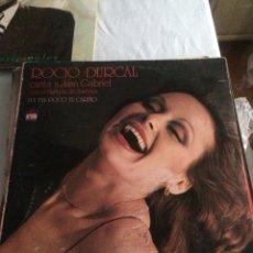 Discos de vinilo: DISCO VINILO LP ROCIO DURCAL CANTA A JUAN GABRIEL. Lote 191742331