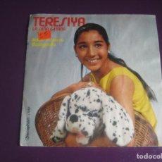 Discos de vinilo: TERESIYA SG DISCOPHON 1971 ANTON PIRULERO / MALAGUEÑA - RUMBAS POP - RUMBA CATALANA . Lote 191744932