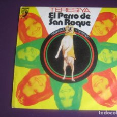 Discos de vinilo: TERESIYA SG DISCOPHON 1973 - EL PERRO DE SAN ROQUE +1 RUMBAS POP - RUMBA CATALANA. Lote 191745060