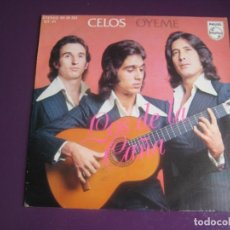 Discos de vinilo: LOS DE LA CAÑA SG PHILIPS 1975 CELOS +1 RUMBA POP GROOVE DISCO - SIN APENAS USO. Lote 191746332