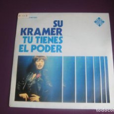 Discos de vinilo: SU KRAMER SG TELEFUNKEN 1976 TU TIENES EL PODER +1 FUNK DISCO POP ALEMANIA 70'S - DIRIA Q SIN USO. Lote 191747517