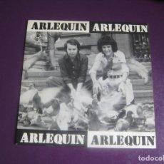 Discos de vinilo: ARLEQUIN SG GMA 1973 NO SE QUE SERA/ LINDA - POP BALADA 70'S - DIRIA Q SIN ESTRENAR - FIRMADO DETRA. Lote 191747680