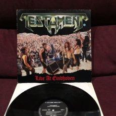 "Discos de vinil: TESTAMENT - LIVE AT EINDHOVEN, EP 12"", 1987, EUROPA. Lote 191748170"