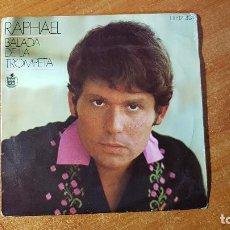 Discos de vinilo: HISPAVOX EP RAPHAEL - BALADA DE LA TROMPETA . Lote 191749036