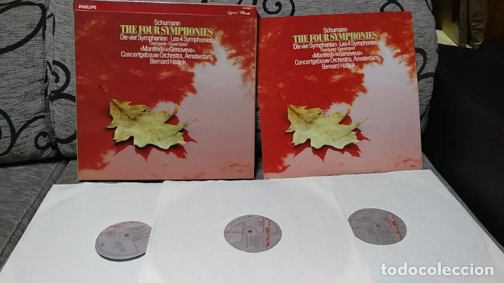 ROBERT SCHUMANN-BERNARD HAITINK,CONCERTGEBOUW ORCHESTRA AMSTERDAM*_?THE FOUR SYMPHONIES (Música - Discos de Vinilo - Maxi Singles - Clásica, Ópera, Zarzuela y Marchas)