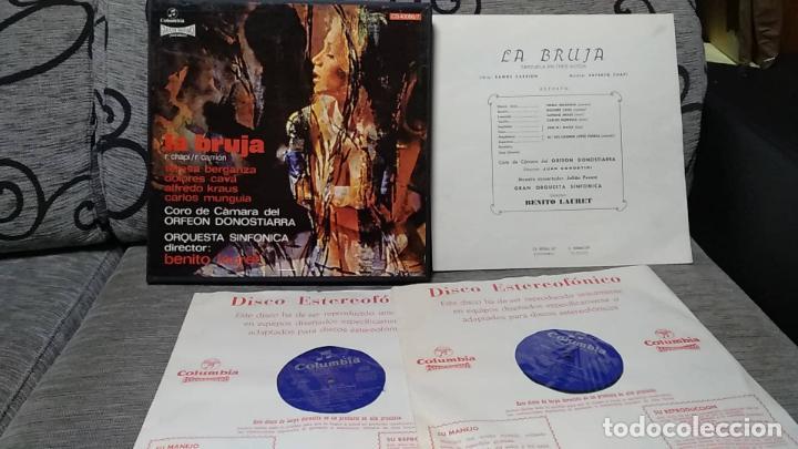RUPERTO CHAPÍ_–LA BRUJA (Música - Discos de Vinilo - Maxi Singles - Clásica, Ópera, Zarzuela y Marchas)