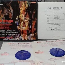 Discos de vinilo: RUPERTO CHAPÍ_–LA BRUJA. Lote 191770776