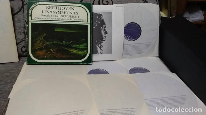 BEETHOVEN - LES 9 SYMPHONIES . CARL SCHURICHT (Música - Discos de Vinilo - Maxi Singles - Clásica, Ópera, Zarzuela y Marchas)