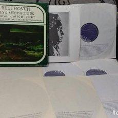 Dischi in vinile: BEETHOVEN - LES 9 SYMPHONIES . CARL SCHURICHT. Lote 191770806