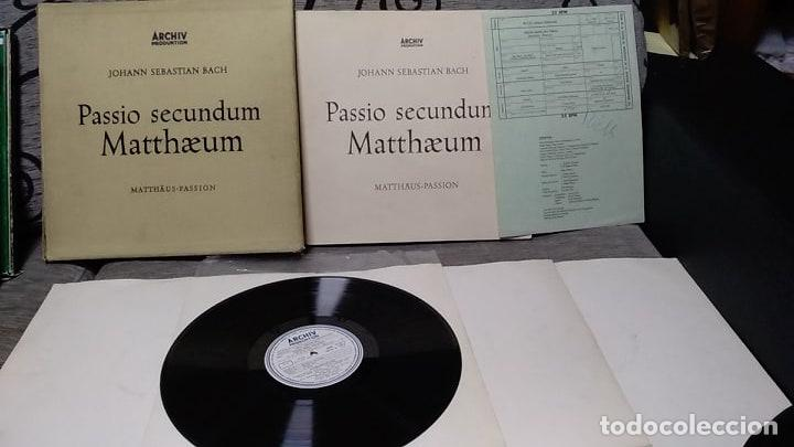 J.S. BACH* /KARL RICHTER_–ST. MATTHEW PASSION (PASSIO SECUNDUM MATTHÆUM) (Música - Discos de Vinilo - Maxi Singles - Clásica, Ópera, Zarzuela y Marchas)