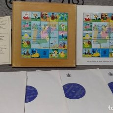 Discos de vinilo: ANTOLOGÍA DEL FOLKLORE MUSICAL DE ESPAÑA (PRIMERA SELECCIÓN ANTOLÓGICA). Lote 191770831