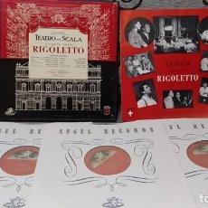 Discos de vinilo: TEATRO ALLA SCALA,GIUSEPPE VERDI_–RIGOLETTO. Lote 191770846