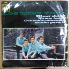 Discos de vinilo: LOS TEEN TOPS - HIPPY SHAKE / NO SOY TONTO / ... EP ED. ESPAÑOLA 1964. Lote 191784736