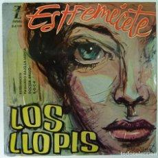Discos de vinilo: LOS LLOPIS // ESTREMECETE+3 //1960 // EP. Lote 191786423