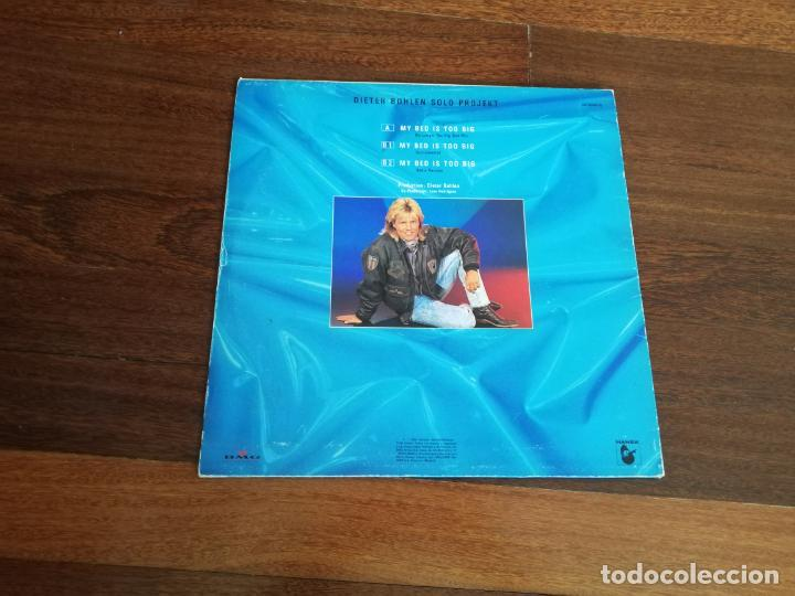 Discos de vinilo: Blue system-My bed is too big. máxi españa - Foto 2 - 191789821