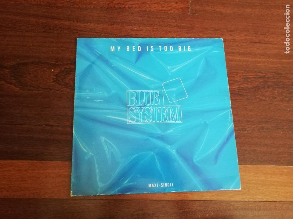 BLUE SYSTEM-MY BED IS TOO BIG. MÁXI ESPAÑA (Música - Discos de Vinilo - Maxi Singles - Disco y Dance)