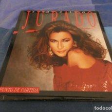 Discos de vinilo: LP EN BUEN ESTADO ROCIO JURADO PUNTO DE PARTIDA VINILO MUY BIEN ALGUNA LINEA EN PORTADA. Lote 191796223