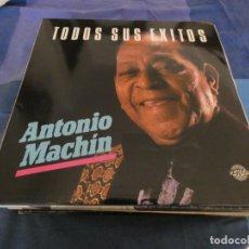 Discos de vinilo: DOBLE LP ANTONIO MACHIN TODOS SUS EXITOS MUY BUEN ESTADO. Lote 202393030